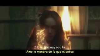Eminem  ft  Rihanna Love The Way You Lie Lyrics Sub Español  Official Video