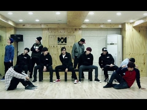 B1A4 - 걸어 본다 안무 영상 (TRIED TO WALK DANCE PRACTICE VIDEO)