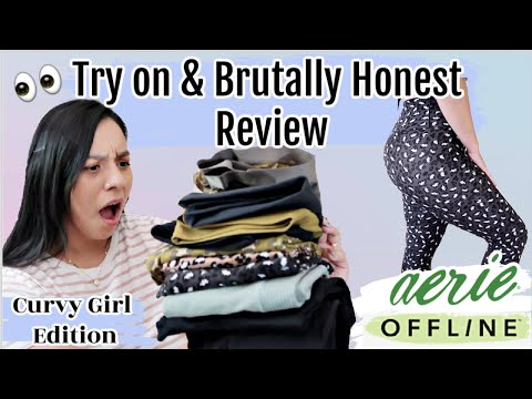 New Aerie Offline Collection Haul & Review!IS IT WORTH YOUR COIN!?$30 Lululemon Dupe?!