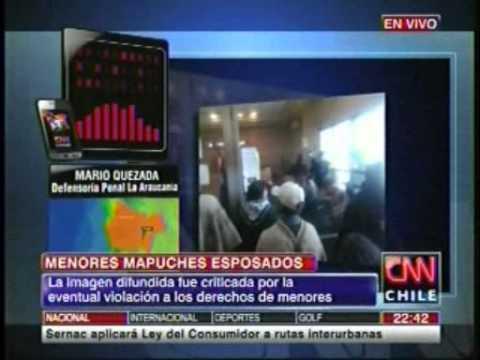 CNN: Entrevista Jefe de Estudios Defensoría Regional, La Araucanía