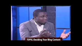 Fola Daniel Discusses Blogging Content With Biyi Fashoyin On Lagos Television
