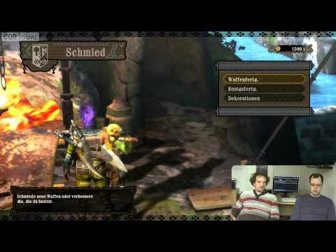 Corsual Let's Play: Monster Hunter 3 Ultimate (DE)