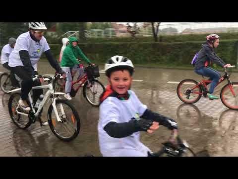 Wideo: Niezwykły rajd rowerowy ulicami Lubina