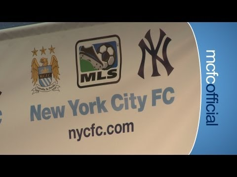 CITY ON TOUR: NYCFC Announcement_Labdar�g�s MLS legjobb vide�k. Sport of USA