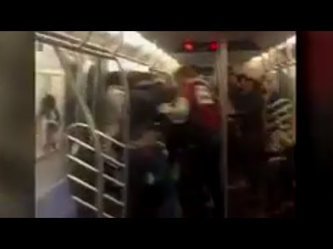 Best Part Of This NYC Subway Brawl? The Camera Man's HILARIOUS Comments!