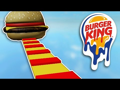 Roblox Burger King Parkurundayım çok acıktımmm