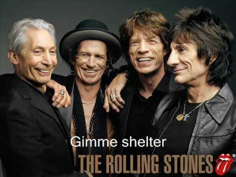 Tekst piosenki The Rolling Stones - Gimme shelter po polsku