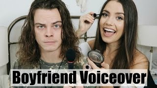 BOYFRIEND DOES MY VOICEOVER | Everyday Makeup Routine full download video download mp3 download music download