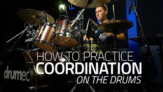 Ready to improve your coordination, independence, and linear drumming? The goal with this lesson is to have each of your limbs work together effectively, which will ultimately give you more freedom to express yourself around the drum set.Get the sheet music:►http://www.Drumeo.com/blog/drum-coordination/Try Drumeo Today:►http://www.Drumeo.com/trial/Follow us!►Facebook: http://www.facebook.com/drumeo/►Instagram: http://www.instagram.com/drumeoofficial/