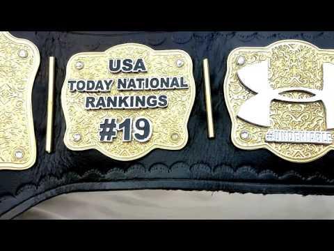 Fully Custom Premier Heavyweight Championship ProAm Belt