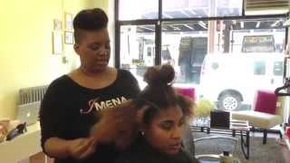 IMENA salon tutotrial: Curls & Color by Tami C.