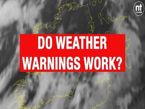 Do Weather Warnings Work?
