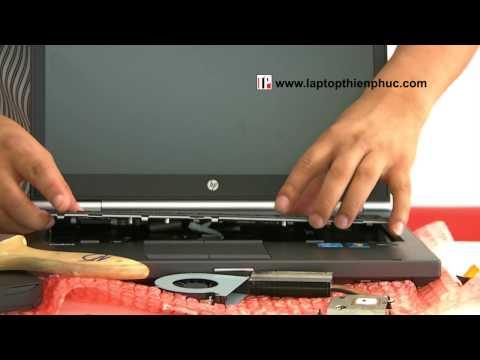 Hướng dẫn tháo lắp vệ sinh Hp elitebook 8460w - Phần 2