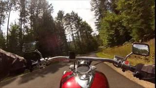 9. 2010 Honda Stateline 1300 : In the Adirondacks