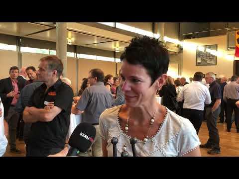 Tina Reusser über den Gewinn des Worber Wirtschaftspreises 2018. (Video: Res Reinhard)