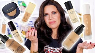 ALL THE NEW FOUNDATIONS ... Winners & Losers by Glam Life Guru