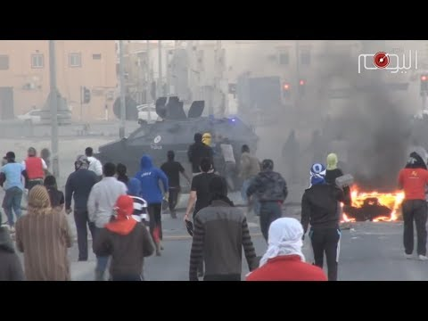 """شاهد – في البحرين """"بالثورة والعزّ والصبر.. أبد أبد ما ننكسر"""""""