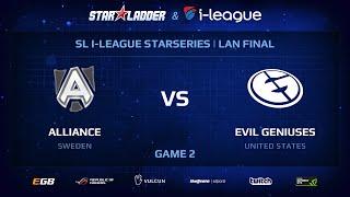 Evil Genuises vs Alliance, game 2