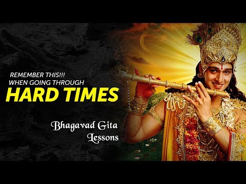 If Life Is Full Of Difficulties and You Feel Like Giving Up Watch This! Bhagavad Gita Lessons