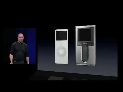 Apple's Steve Jobs Introduces 1st Gen iPod nano