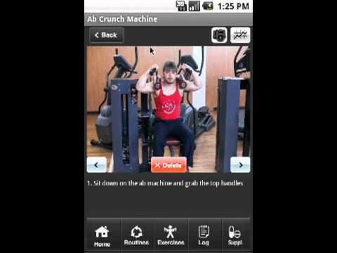 Video of Bodybuilder