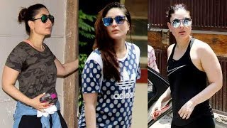 Kareena Kapoor Khan is a regular visitor at her Bandra gym to get rid of the pregnancy weight after Taimur's birth. Take a look at some of her gym avatars that not only give you fitness but fashion goals too. Watch latest Bollywood gossip videos, latest Bollywood news and behind the scene Bollywood Masala. For interesting Latest Bollywood News subscribe to Biscoot TV now : http://www.youtube.com/BiscootTVLike us on Facebookhttps://www.facebook.com/BiscootLiveFollow us on Twitterhttp://www.twitter.com/BiscootLiveFor Latest Bollywood News Subscribe us on Youtube http://www.youtube.com/c/BiscootTVCircle us on G+ https://plus.google.com/+BiscootLiveFind us on Pinteresthttp://pinterest.com/BiscootLive