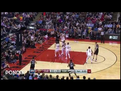 DeMar DeRozan Dunk , Jan11 , vs Cleveland Cavaliers , NBA Season 2017-2018