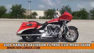5. Used 2009 Harley Davidson CVO Road Glide Motorcycles for sale - Jacksonville, FL