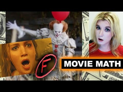Box Office for Mother F Cinemascore, It 2017 Second Weekend (видео)