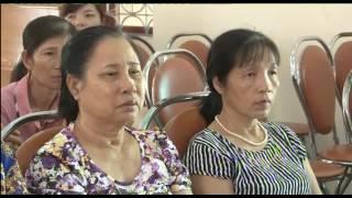Tuyên truyền Nghị quyết Đại hội đại biểu phụ nữ các cấp, chính sách BHXH, BHYT, thực hiện đề án chiến lược theo QĐ 1447-QĐ/TU ngày 24-4-2014 của Tỉnh ủy Quảng Ninh.