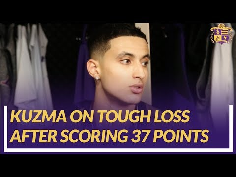 Video: Lakers Nation Post Game: Kyle Kuzma on Being Inserted into the Starting Lineup and Taking Advantage