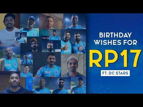 Happy Birthday Rishabh Pant