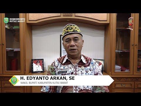 Ucapan Selamat Hari Jadi Kabupaten Kutai Barat yang Ke-19 Tahun Oleh Wakil Bupati Kutai Barat
