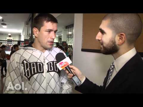 Demian Maia Fighting With New Purpose Since Birth of First Child