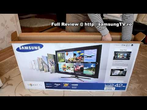 Samsung F5500 - 42F5500 Unboxing