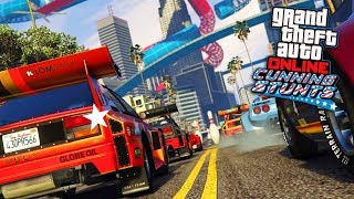 Grand Theft Auto V: Playing New Cunning Stunts Special Vechicle Race (1st Place)