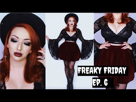 FREAKY FRIDAY | Ep. 6 - CURSED a DEMON! | GRWM (Subscribers Paranormal Stories)