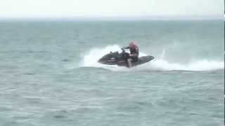 5. 2003 Yamaha Waverunner XLT 1200 cutting through Lake Ontario