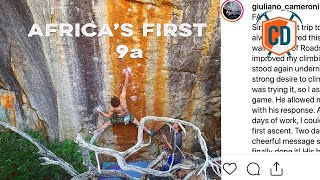 The Story Behind Africa's First 9a Route   Climbing Daily Daily Ep.1898 by EpicTV Climbing Daily