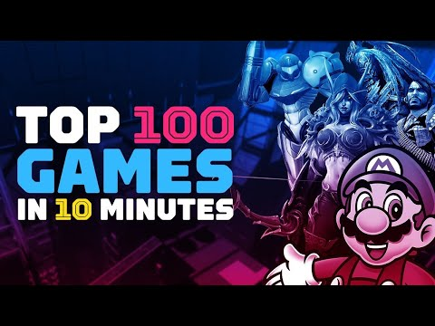 Video IGN's Top 100 Games of All Time in 10 Minutes download in MP3, 3GP, MP4, WEBM, AVI, FLV January 2017