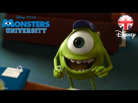 DisneyPixar - The brand new full UK trailer for Monsters University is here! Ever since college-bound Mike Wazowski (voice of Billy Crystal) was a little monster, he has d...