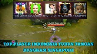 Video Keren Squad RRQ Duet bareng EVOS Hadapi SINGAPORE Di ||Kontes Arena|| MLBB MP3, 3GP, MP4, WEBM, AVI, FLV Februari 2018