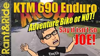 10. KTM 690 Enduro R best all in one do it all  (adventure bike or not)