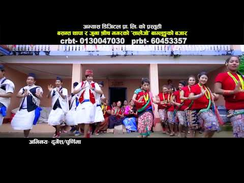 Baglungko Bajar by Basanta Thapa & Juna Shrish HD-New Super Hit Salaijo Song