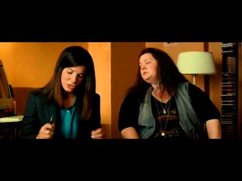 Сандра Бълок говори на Български The Heat (2013) (Sandra Bullock talks Bulgarian)
