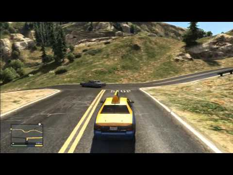 comment prendre taxi gta v