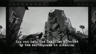 How to donate online via e-albania.al/donate to help families in Albania ease the earthquake's aftermath
