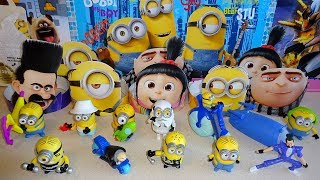 "Universal / Illumination Entertainment Despicable Me 3 Animated 3D Film McDonald's Complete Set of 10 Amazing Action Figure European Collection - Juguetes Mclanche Feliz Bob - Kevin - Stuart... 2017 Despicable Me 3 Movie 12 Easter Surprise Egg 2-Pack + Toy - Candy - Sticers - Puzzles: https://youtu.be/PPlj4FvnTOE 2015 Illumination Minions Movie Tic Tac Limited Edition Banana Candy Unboxing: https://youtu.be/OsajU8X7r4o Illumination Despicable Me 3 Huevos Sorpresa Easter Cube Unpacking: https://youtu.be/ucwvlhsNjaQ Cut the Rope Hungry For Fruit McDonalds Happy Meal Complete Set Review: http://youtu.be/SHW1Vfu7760 RIO 2 12 Kinder Joy Chocolate Surprise Eggs Special Edition Figures: http://youtu.be/JPdvABED8sw 2015 Minions Movie Croissant & Biscuit Surprise Caps - Pogs available in Europe: https://youtu.be/CQmRv-rCBww The Penguins of Madagascar Movie Mystery Blind Bag - Bags Opening: http://youtu.be/8tYT7mQCPnM 2016 DreamWorks Trolls Movie 16 Chupa Chups Surprise Ball: https://youtu.be/9PlALlLc8-o Film: Educational Video for Kids 2017 by P.S.W.C. Music: Song Music ""Sound Two"" Ware Created by Me and Are My Property (p)(c) 2013 by Polsih Star Wars Collector ( P.S.W.C. )  http://www.youtube.com/user/supersprinttom/about"