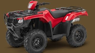 6. 2015 Honda FourTrax Foreman Rubicon 4x4 Arrives in 6 Versions [Photo Gallery]