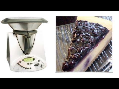 bimby - cheesecake ai frutti di bosco